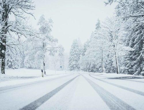 Consejos para conducir una furgoneta camper en invierno